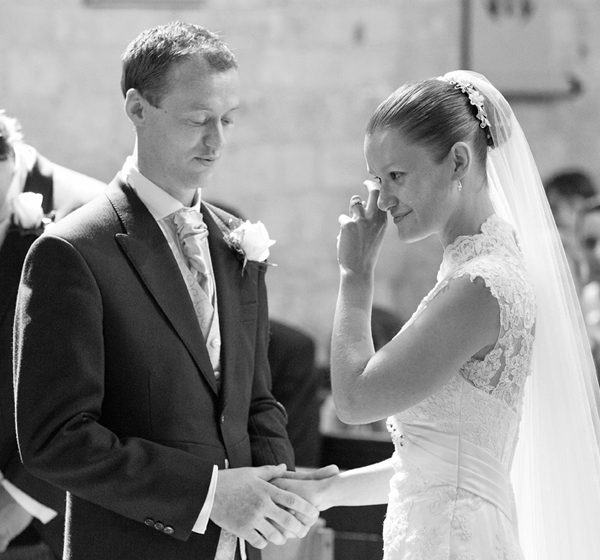 Vicky and Mick's wedding at Portchester Castle and Cams Hall in Hampshire