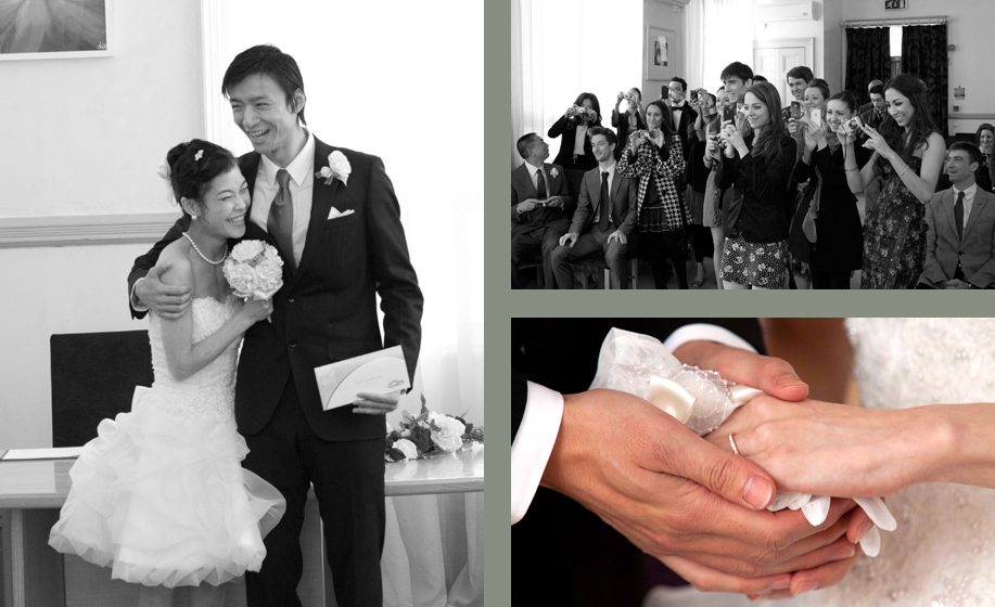 wedding Photographer for Hampshire and Surrey, Leeds town hall