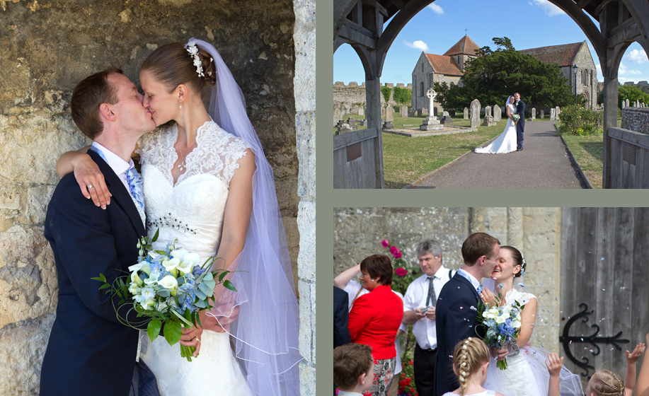 wedding photographer for Cams Hall and Portchester Castle, Hampshire