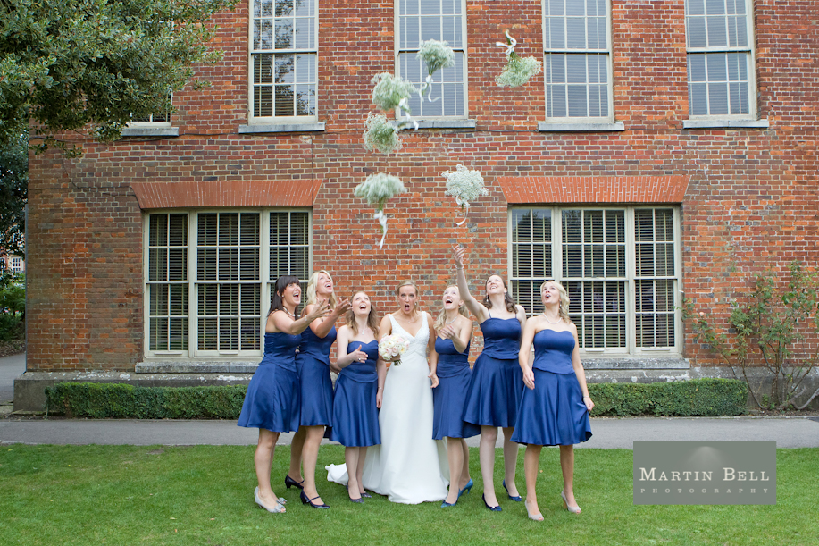 wedding photographer for Winchester Guildhall, Hampshire