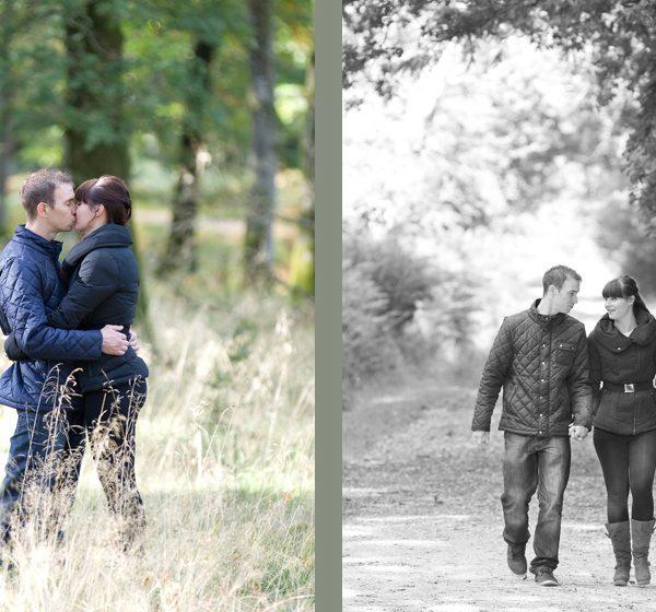 Engagement photo shoot New Forest, Hampshire - Gemma and Scott