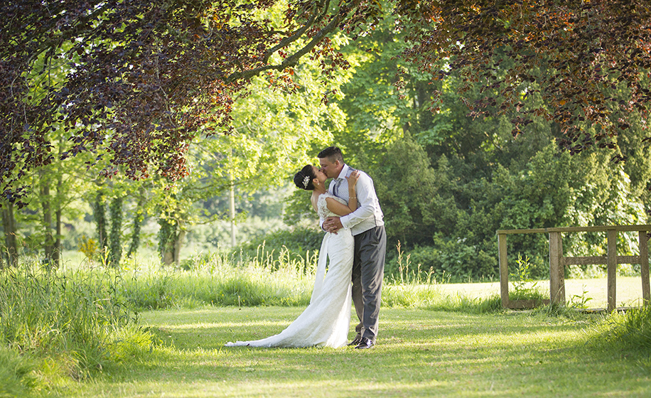 Wedding photography at East Close Hotel, New Forest - Laura and Jamie