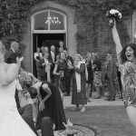 Wedding photos at Hodsock Priory by Hampshire documentary wedding photographer, Martin Bell Photography