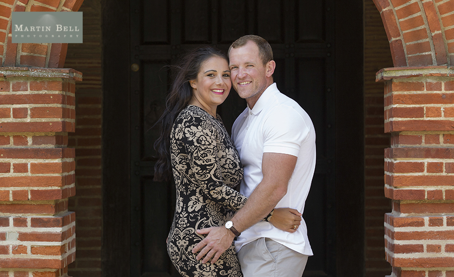 New Place engagement photographs by Hampshire wedding photographer, Martin Bell Photography