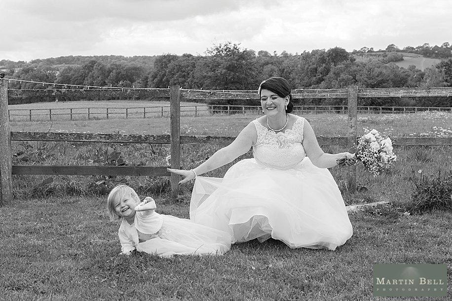 Liz and Mark's Bonhams Barn wedding & Winchester Guildhall wedding by Hampshire wedding photographer, Martin Bell Photography