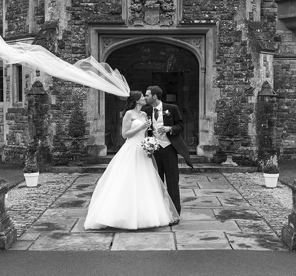 Kim & Tim's winter wedding at Rhinefield House Hotel