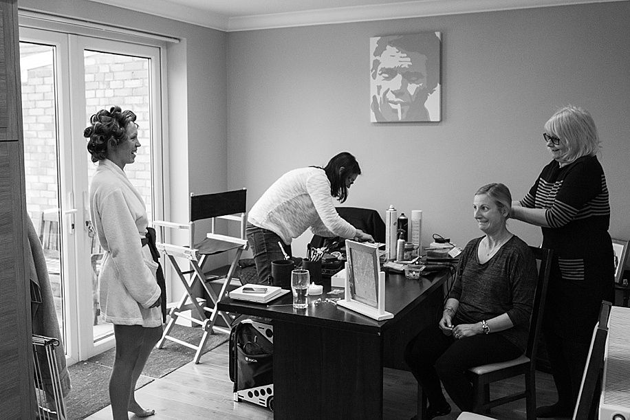 Botley Park Hotel Wedding - Bridal Preparations