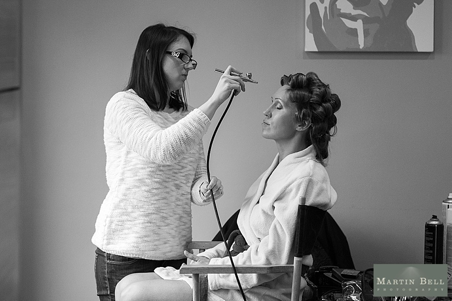 Botley Park Hotel Wedding - Bridal Preparations documentary photography