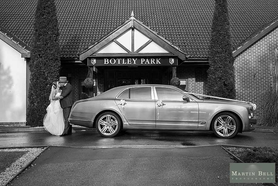 Botley Park Hotel Wedding by documentary wedding photographer Martin Bell Photography