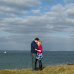 Dorset wedding photographer - Old Harry's Rocks engagement photo shoot