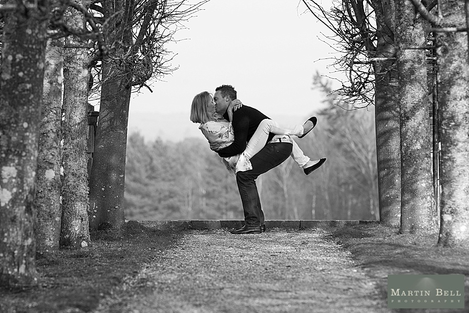 fun engagement photo shoot - Hampshire Wedding photography - Martin Bell Photography