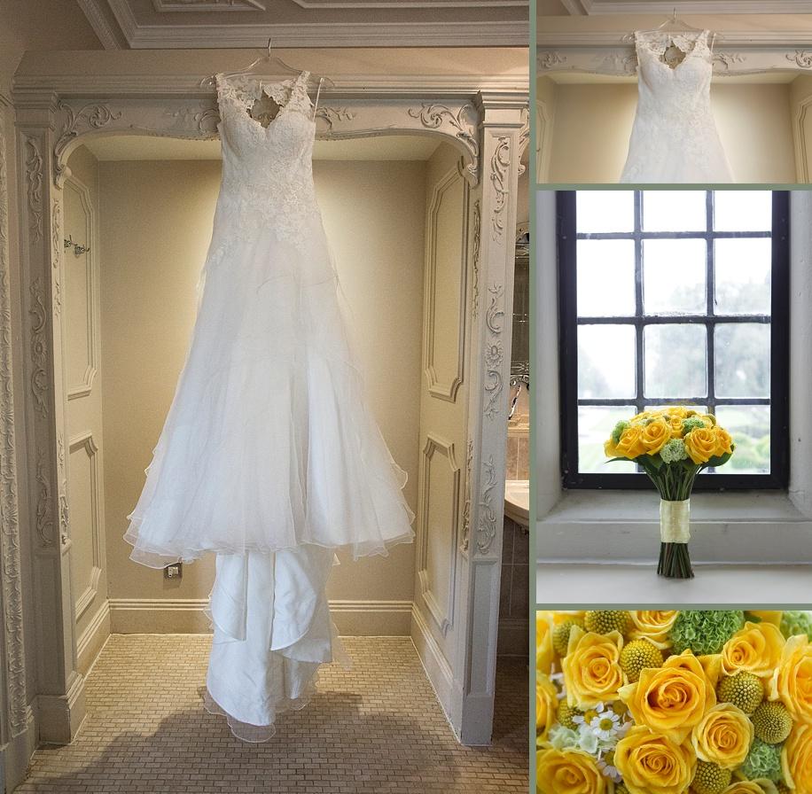 Rhinefield House wedding photography by Martin Bell Photography - Amazing wedding dress