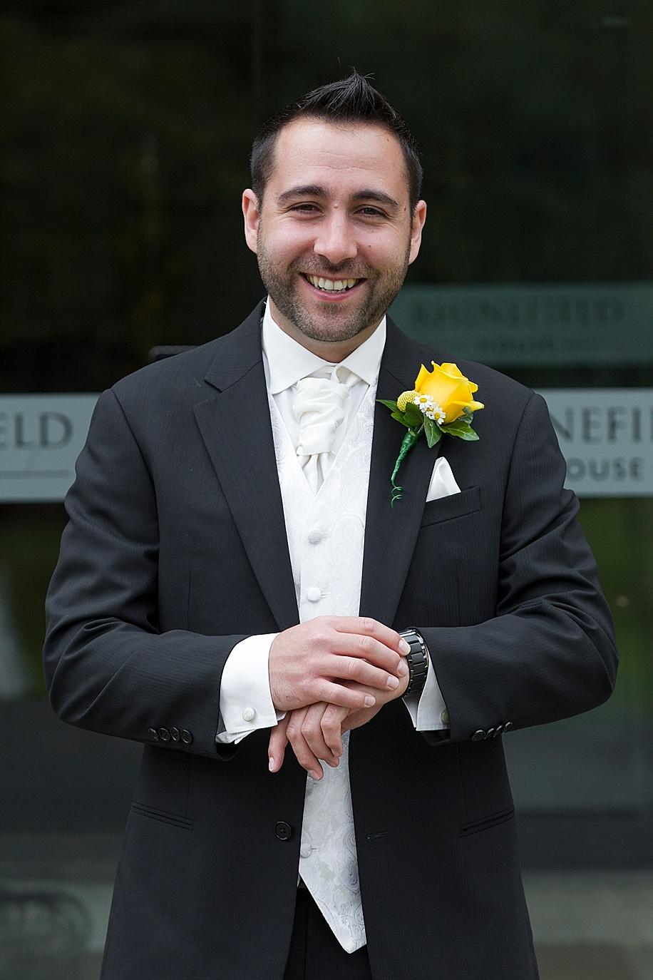 Rhinefield House wedding photography by Martin Bell Photography - Groom Portraits