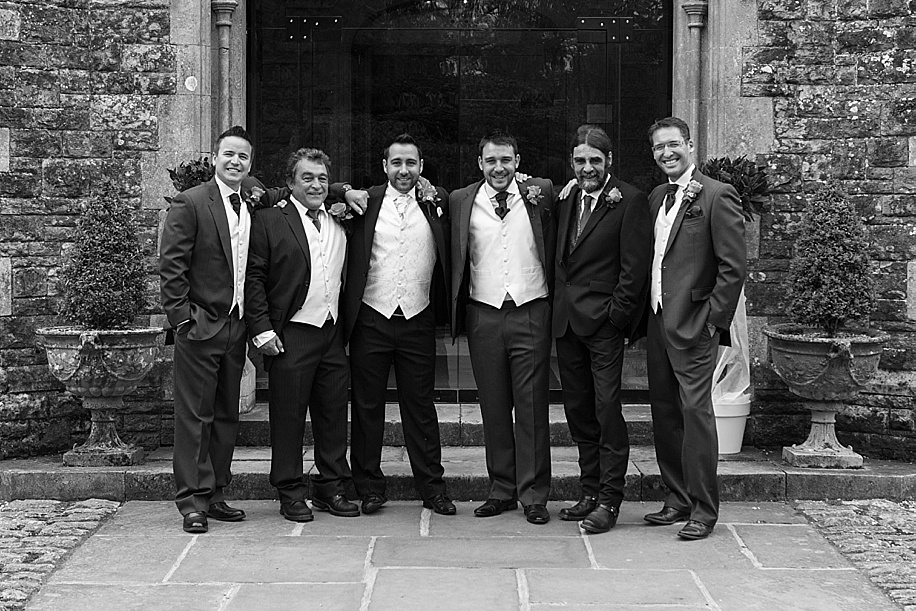 Rhinefield House wedding photography by Martin Bell Photography - Groomsmen photographs