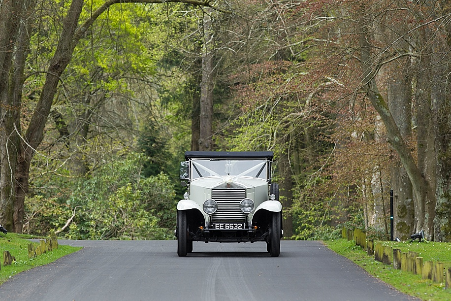 Rhinefield House wedding photography by Martin Bell Photography - Wedding car ideas
