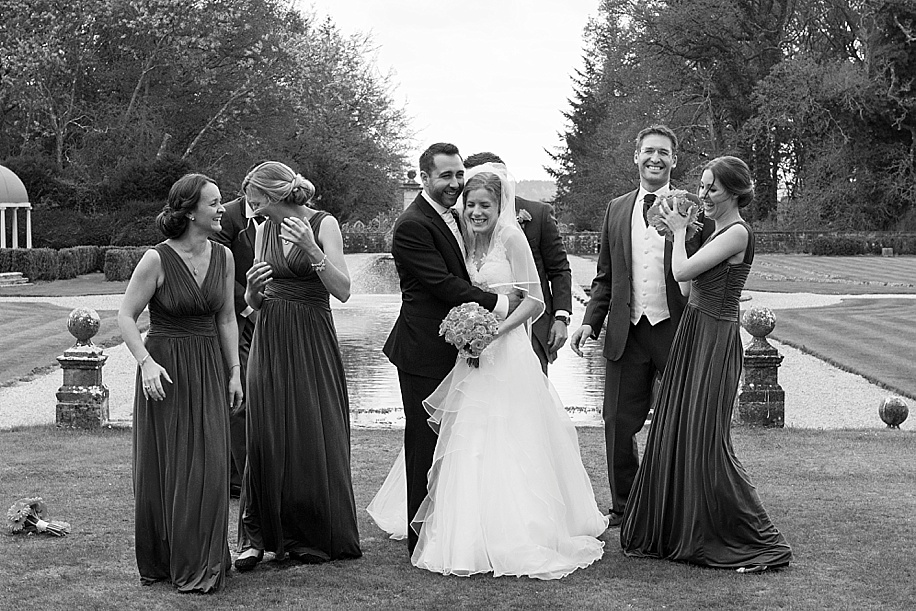 Rhinefield House wedding photography by Martin Bell Photography - fun wedding photograph ideas