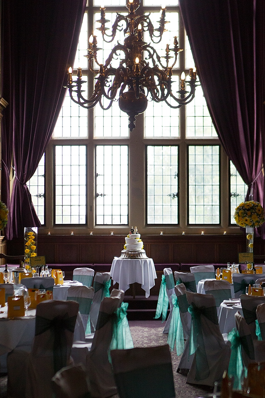 Rhinefield House wedding photography by Martin Bell Photography - Grand Hall ideas