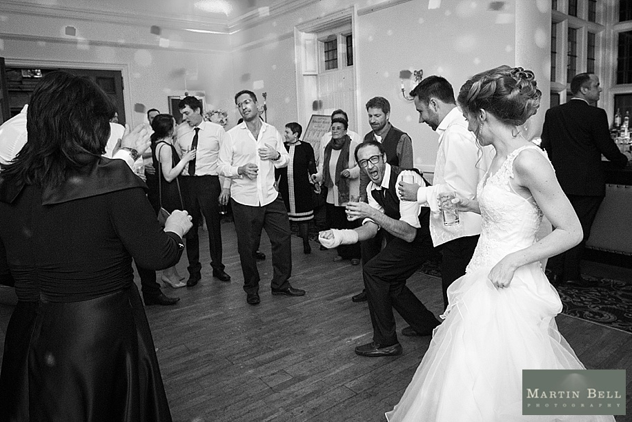 Rhinefield House wedding photographs by Martin Bell Photography - fun wedding photographs