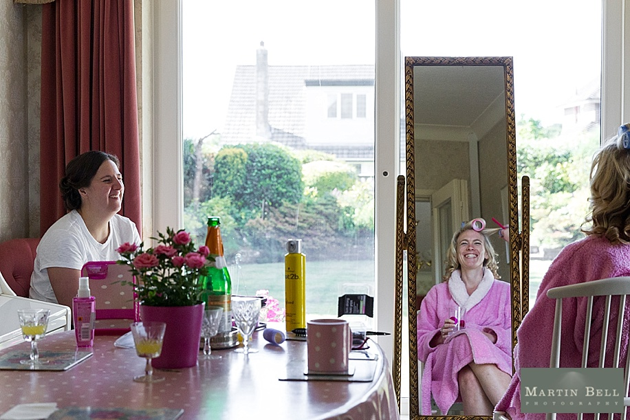 Dorset wedding photographer - Bride getting ready - Martin Bell Photography