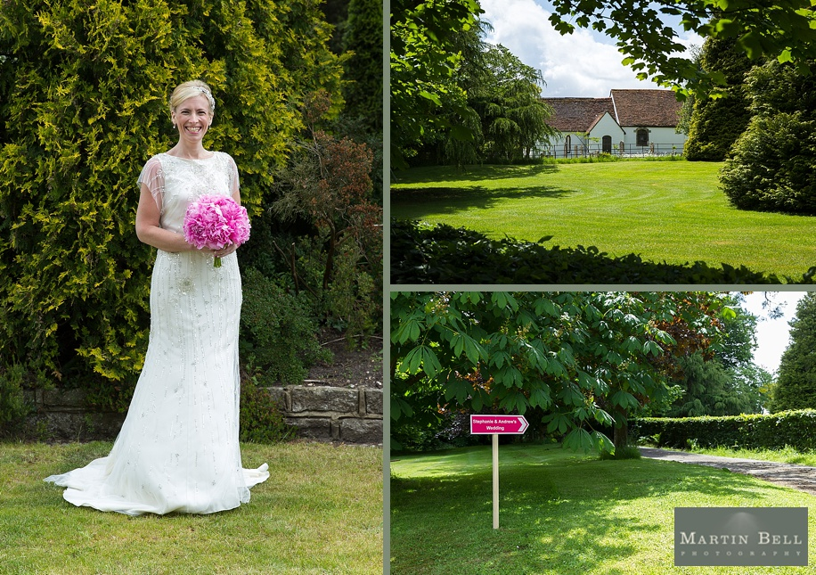 Dorset wedding photographer - Bride portrait - Martin Bell Photography