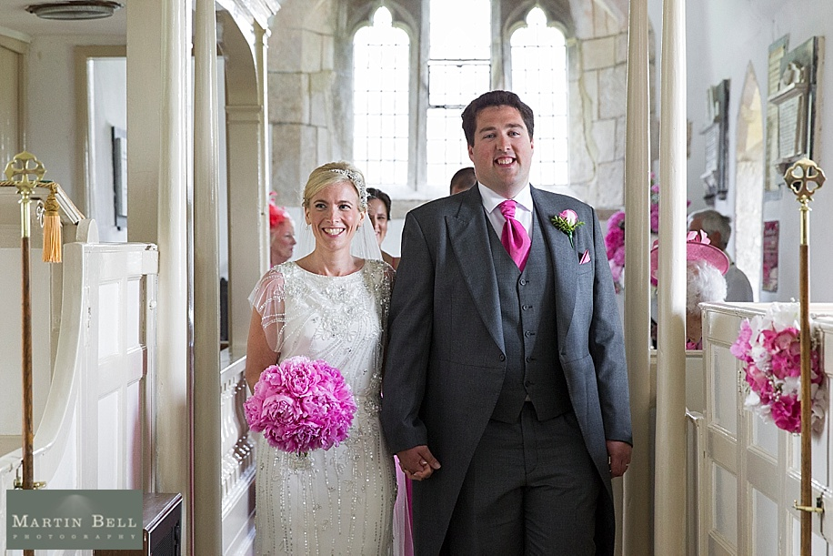 Wedding photographs at All Saints, Chalbury - Dorset wedding photographers - Martin Bell Photography