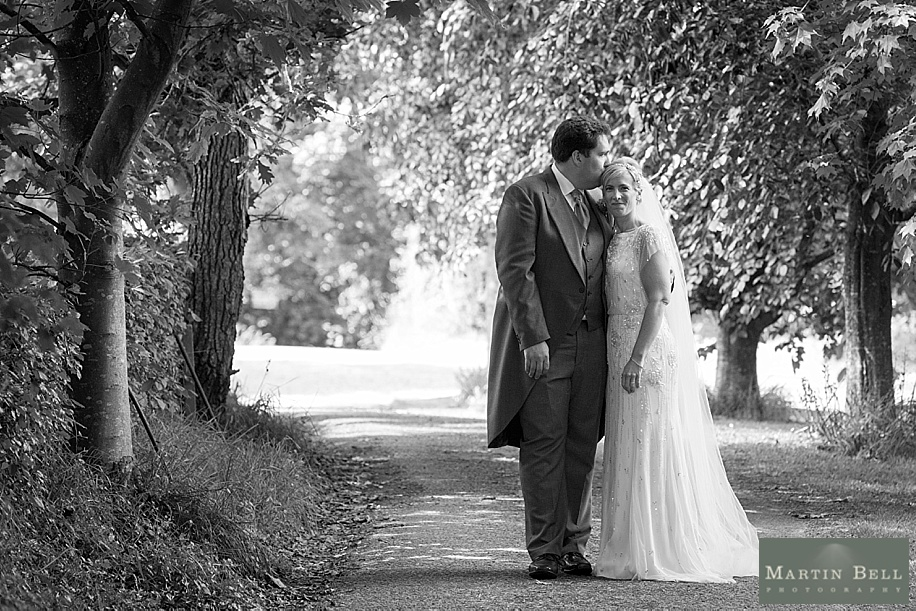 Wedding photographs at All Saints, Chalbury - Dorset wedding photographers by Martin Bell Photography