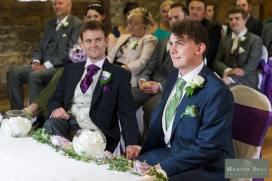 Westgate Hall same sex wedding by Martin Bell photography