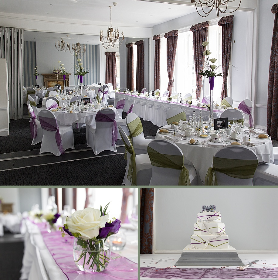 Dolphin Hotel wedding photography by Martin Bell Photography