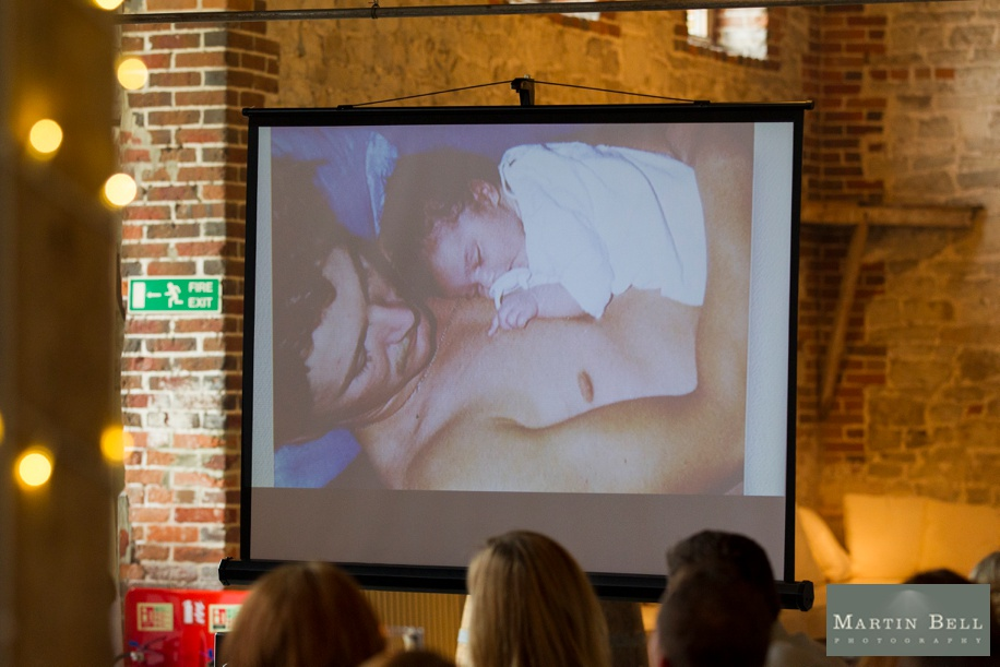 Hampshire wedding photography - cool Father of the Bride speech ideas at the Manor Barn in Buriton near Petersfield