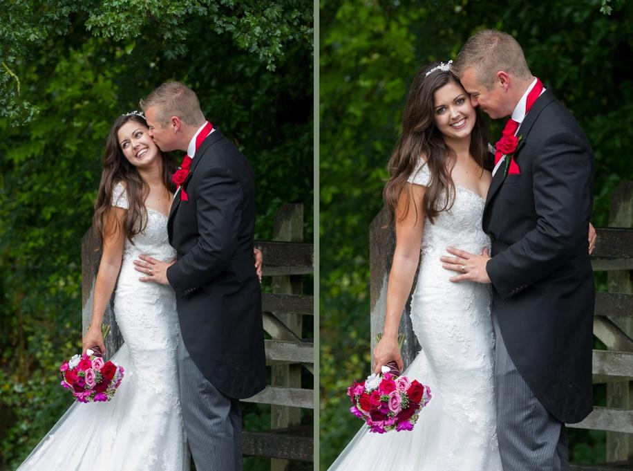 Manor Barn Buriton wedding photography - photographs of the happy couple