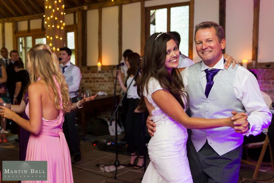 Manor Barn in Buriton wedding - evening reception