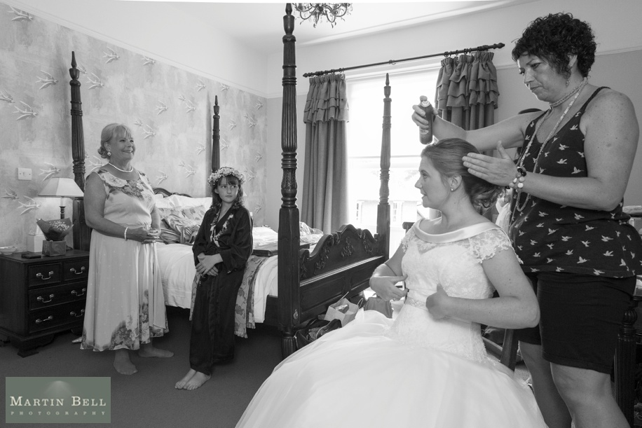 Photographs of a wedding in Winchester by Hampshire wedding photographer, Martin Bell Photography