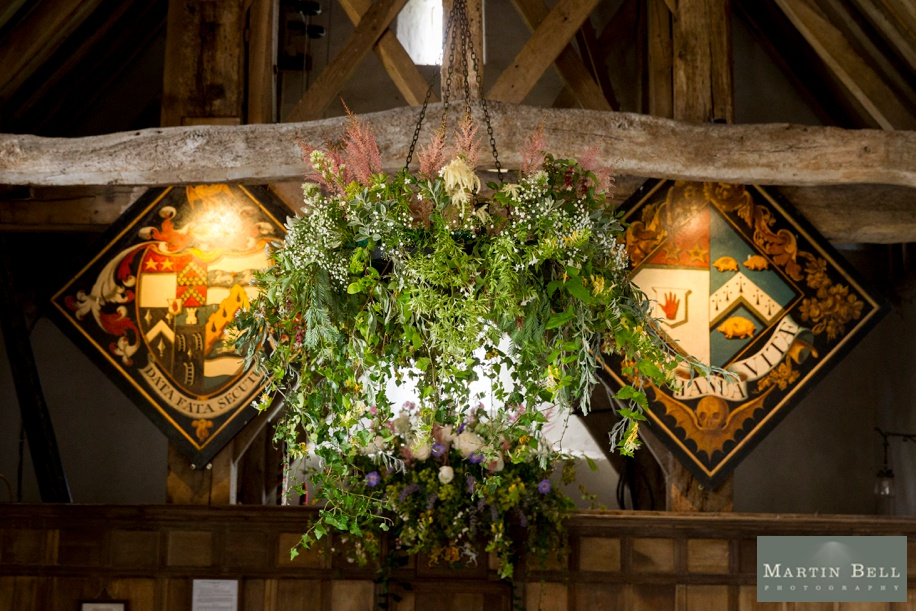 Church wedding flower ideas in Winchester by Martin Bell Photography