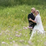 Bride and Groom photograph ideas at a Winchester marquee wedding in Hampshire by Martin Bell Photography
