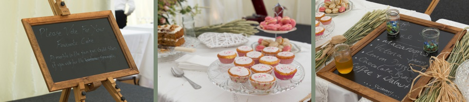 Marquee wedding ideas in Winchester Hampshire - cake table