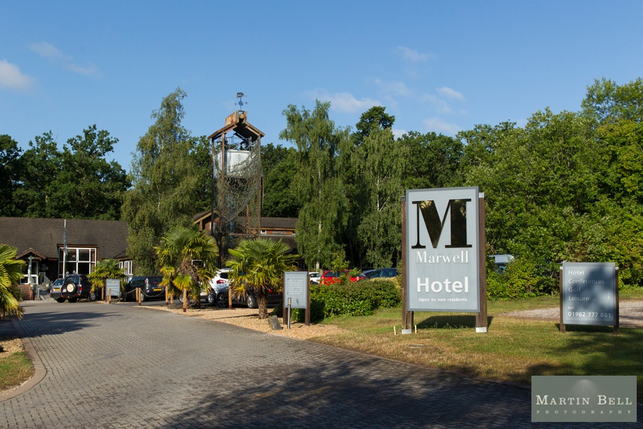Marwell Hotel wedding - Martin Bell Photography