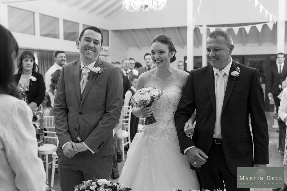 Documentary wedding photography at Marwell Hotel