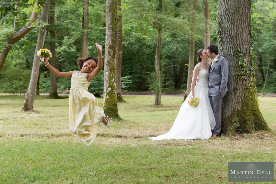 Fun couple photographs by Hampshire wedding photographer, Martin Bell Photography