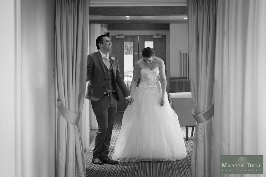 Documentary wedding photographs in Hampshire by Martin Bell Photography