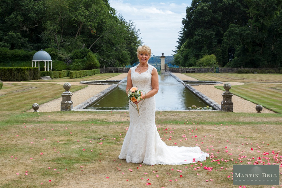 Stunning Bride photograph at Rhinefield House during a New Forest wedding