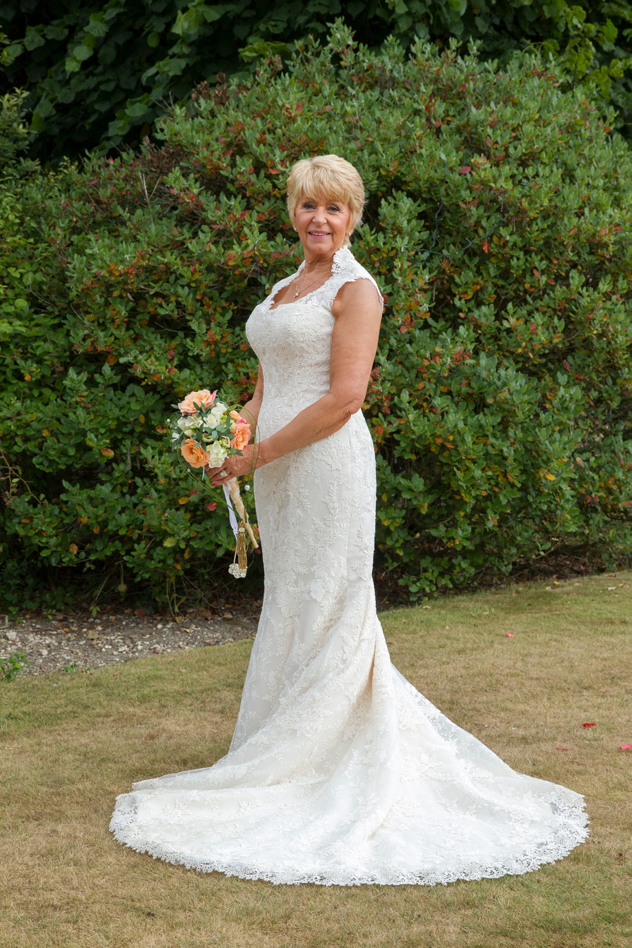 Beautiful photograph of the Bride during a New Forest wedding at Rhinefield House - Martin Bell Photography
