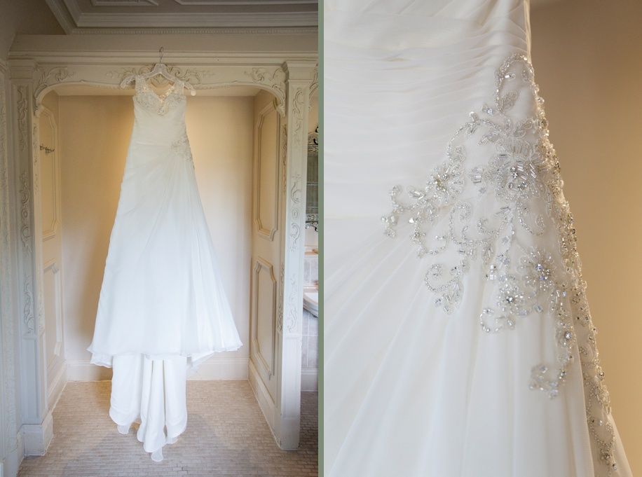 Stunning wedding dress - Rhinefield House