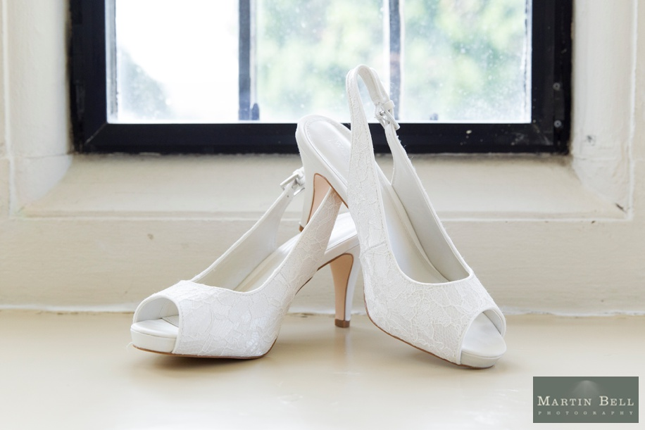 Wedding shoes - Rhinefield House