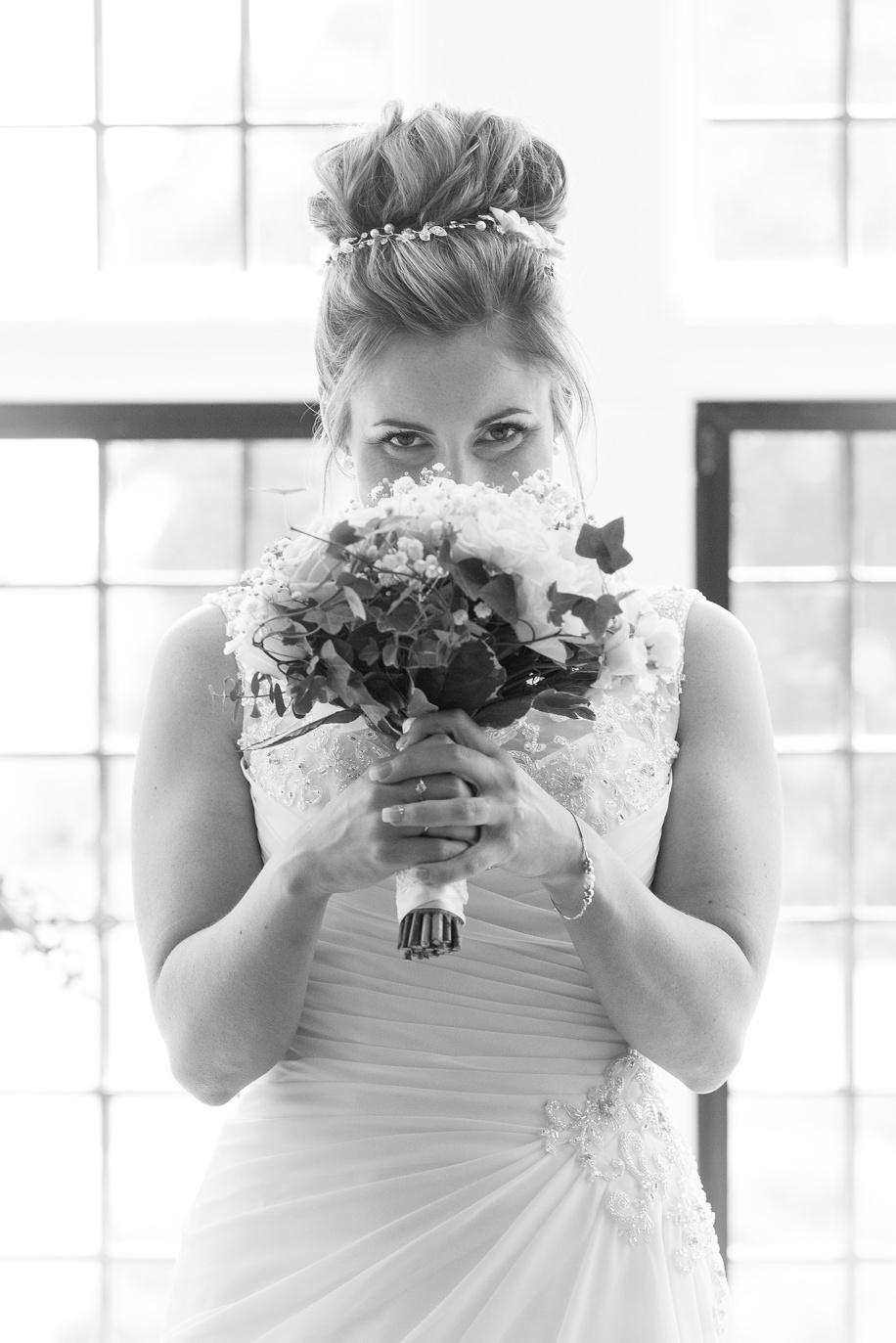 Stunning Bridal portrait - New Forest wedding at Rhinefield House - Martin Bell Photography