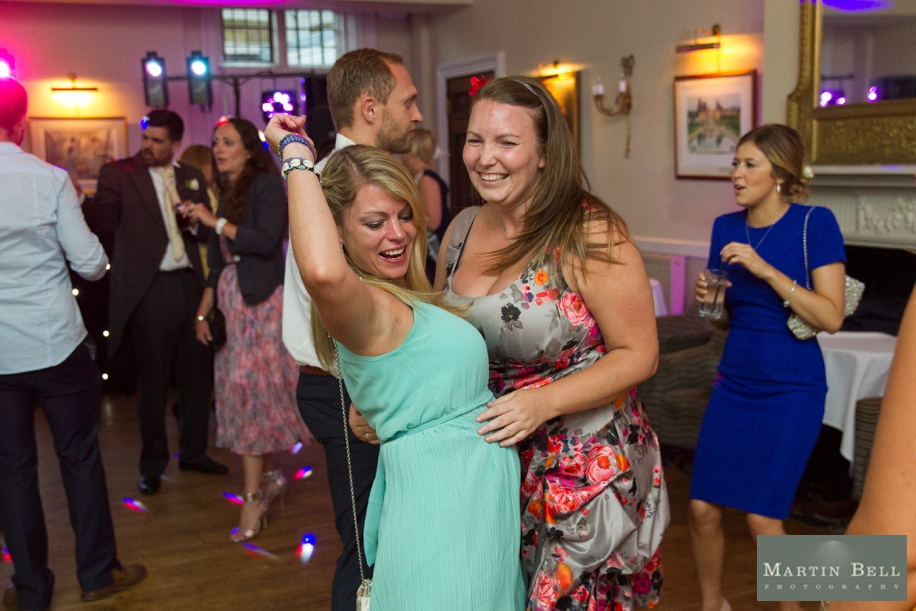 fun evening reception photographs at Rhinefield House - Martin Bell Photography