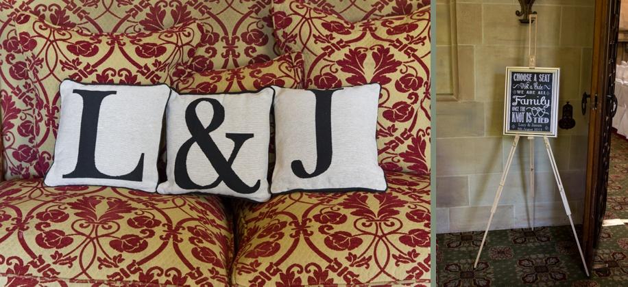 Wedding ideas - wedding cushions