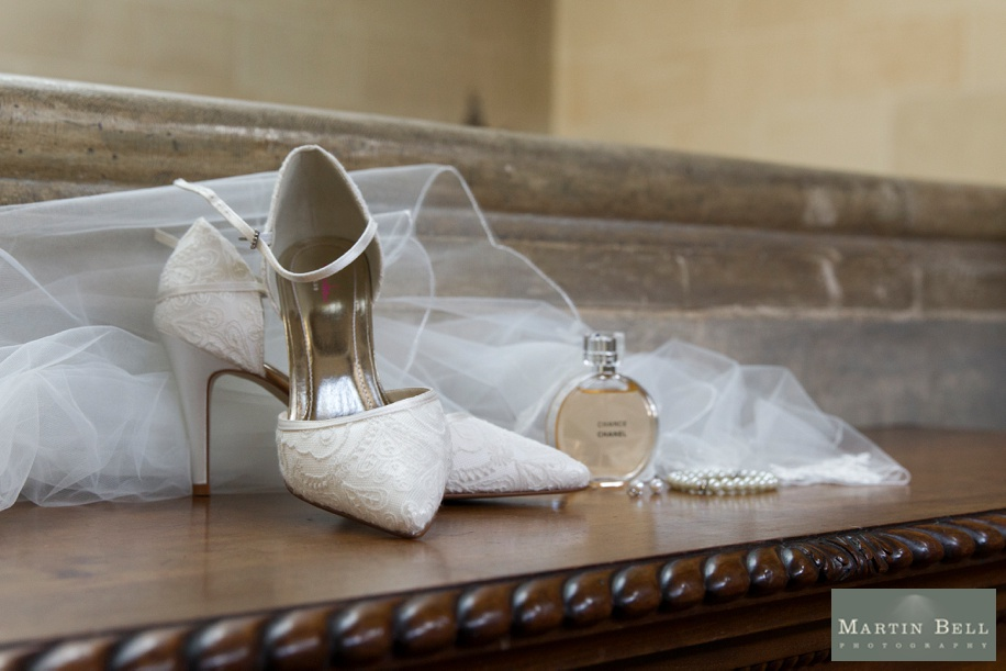 Bridal shoes and accessories at Northcote House