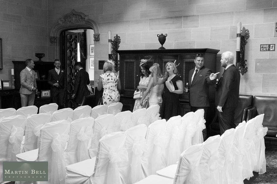 Northcote House wedding - Arrivals