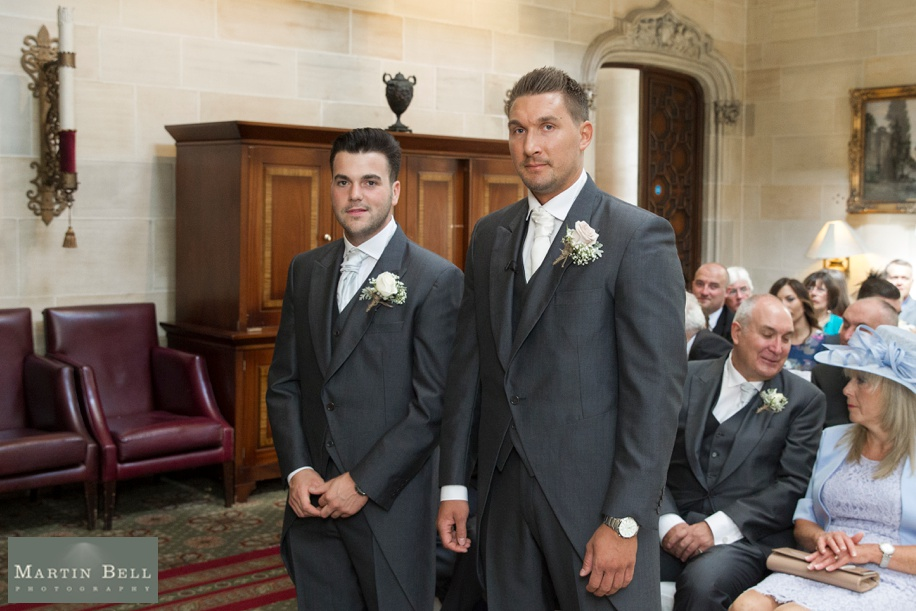 Groom and Best man before ceremony photographs - Northcote House wedding