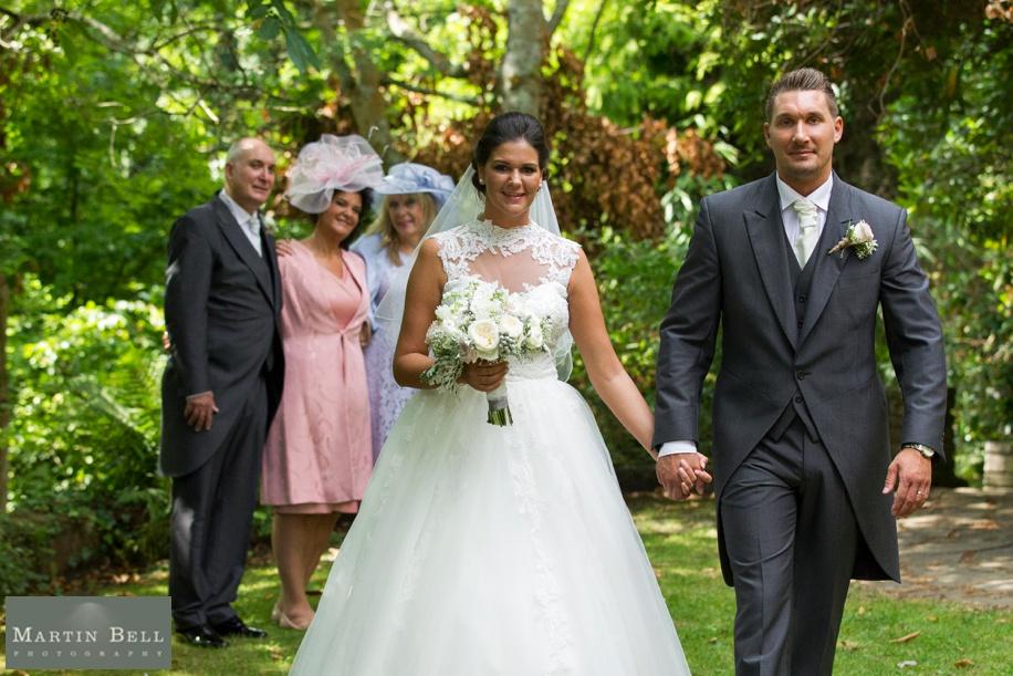 Wedding photographs at Northcote House